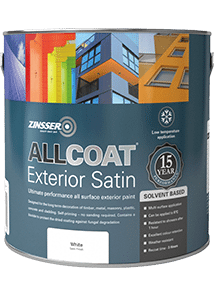 Specialist paints and primers from zinsser uk - Zinsser exterior paint pict ...