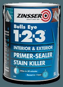 Bulls Eye 1 2 3 Zinsser Uk